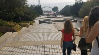 Park wandering