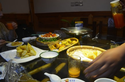 Our dinner!