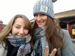 Me and my friend Kate from Ukraine