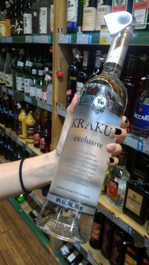 Fancy Polish vodka