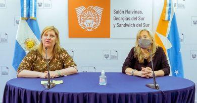 Di Giglio y Chapperón hicieron hincapié en el cumplimiento del aislamiento
