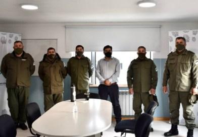 El Intendente Harrington se reunió con Autoridades de Gendarmería Nacional
