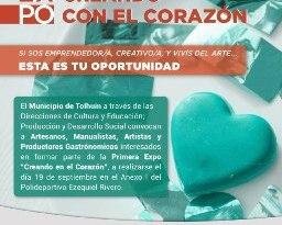 """Tolhuin: Últimos días para anotarse en la 1ra Expo """"Creando con el Corazón"""""""