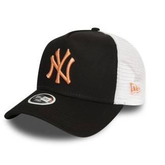 Gorra Womens New Era League Essential Trucker NY Yankees