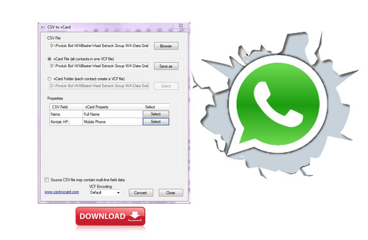 Cara Menambah Ribuan Kontak WhatsApp Secara Mudah dan Cepat