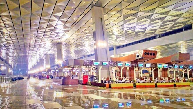 Foto-Foto Terminal 3 Ultimate Bandara Soekarno-Hatta Terbaru! (7)