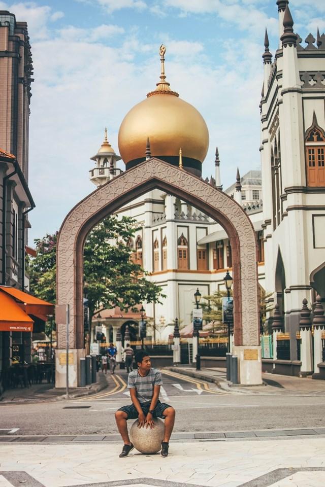 tempat wisata Singapura : Haji Lane