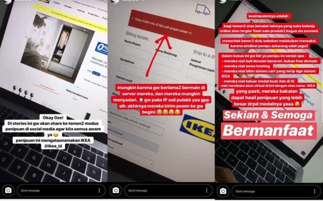 Viral Hati Hati Penipuan Website Ikea Abal Abal Lapakfjbku Com
