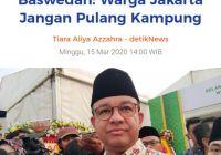 Apakah Anies bisa lock down Jakarta?