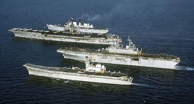 Aircraft Carrier Terbesar Di Dunia!