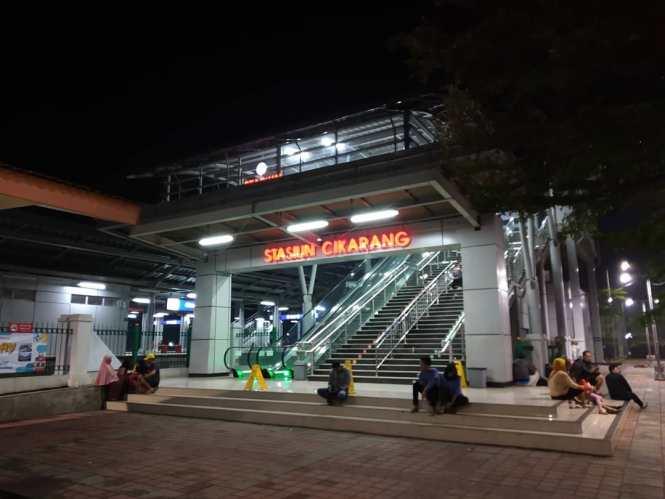 KRL Commuter Line Jakarta Relasi Stasiun Jakarta Kota ↔ Stasiun Cikarang