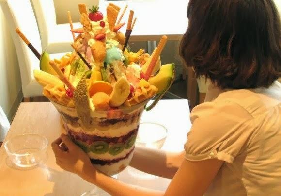 Foto - Foto Unik Makanan Porsi Super Raksasa Di Jepang