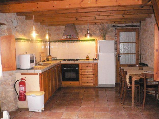 Cuina de la casa rural la Pallissa - Casa rural tarragona