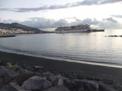 AIDAstella auf La Palma