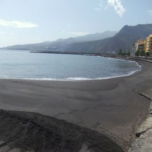 Sandstrand von Santa Cruz de La Palma