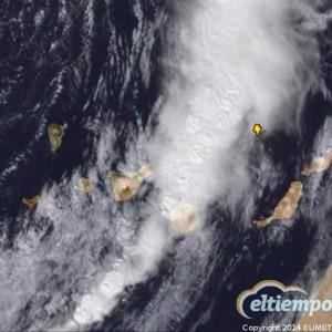 Starke Fallwinde auf La Palma