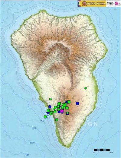 Zweite Erdbebenschwarm