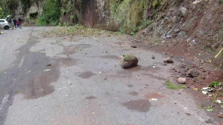 Gefährlicher Steinschlag