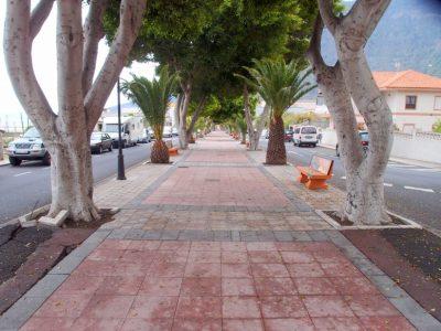 Promenade von La Frontera