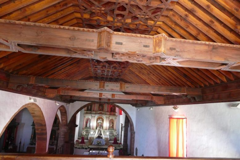 Holzdecke Santo Domingo de Garafía