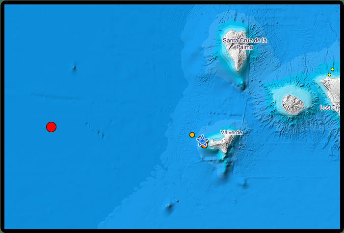 Lage des kräftigen Erdbeben
