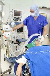 Krankenhaus - Corona Patient