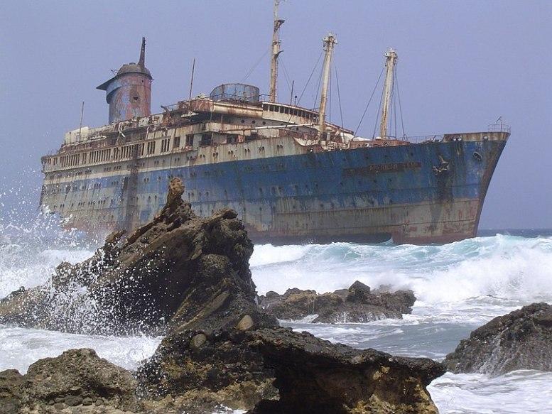 American Star - Schiffswrack