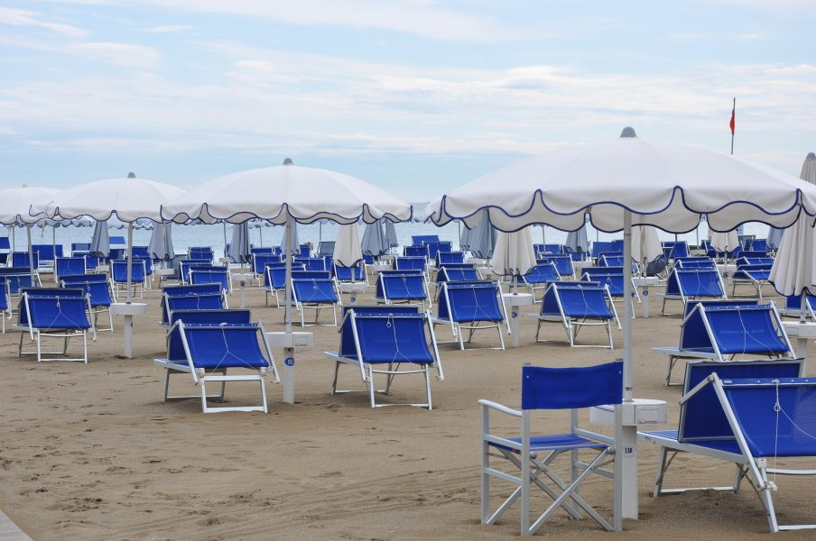 Strand - Corona-Tourismus
