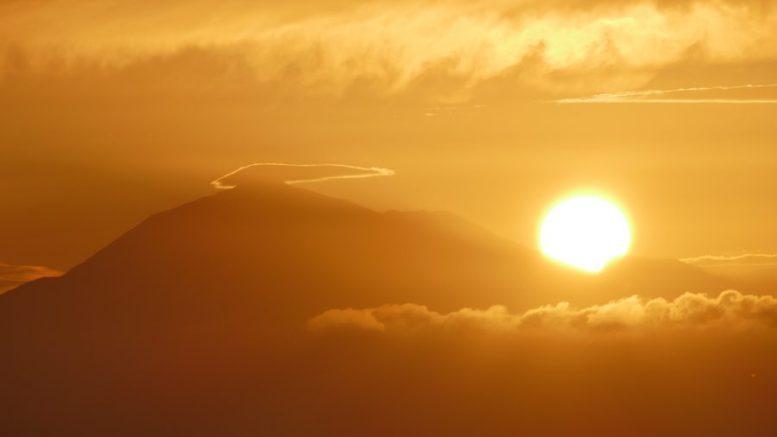 Sonnenaufgang - Donnerwetter