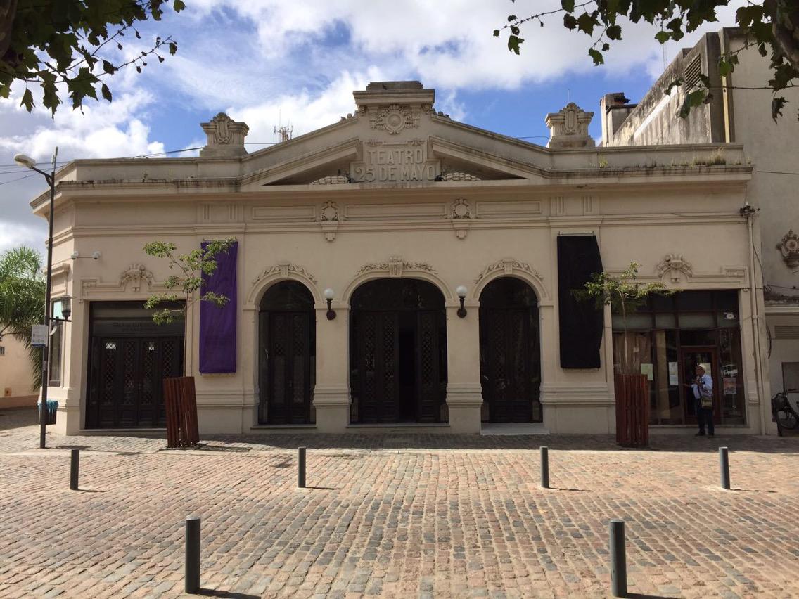 """Entradas para NTVG: """"Hubo un pequeño desfasaje de información con tickantel"""" Gabriela Pérez del Teatro 25 de Mayo"""