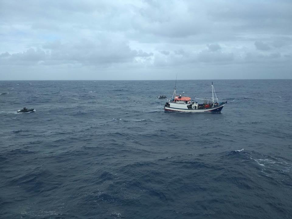 """El buque """"Tatuira"""" fue detenido en Brasil"""