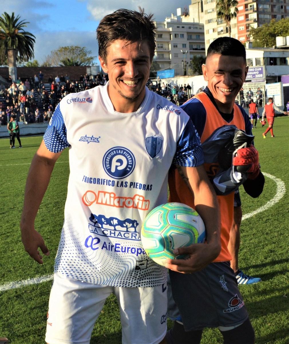 El castillense Joaquín Zeballos destacado con un hack trick ante Defensor Sporting