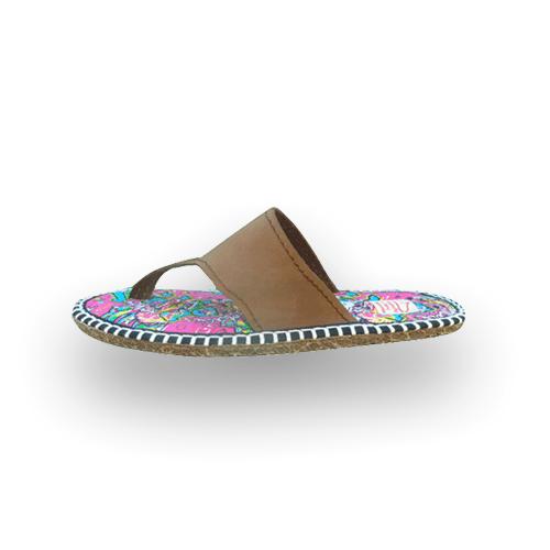 Pantoufles tongs femme ZIG ZAG 1