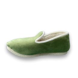 pantoufle vert