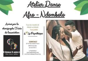 Activités - Atelier Danse  Afro - Ndombolo @ La Papothèque
