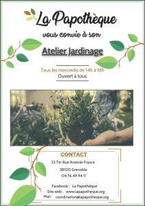 Activités - Atelier Jardinage @ La Papothèque