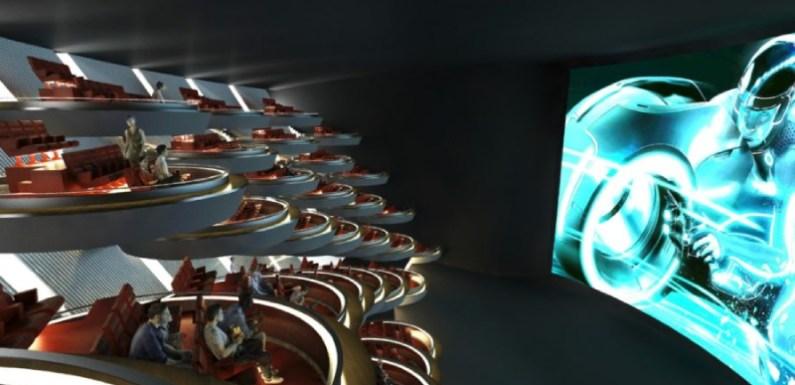 El diseño de un cine de París será como el del Senado Galáctico de 'Star Wars'