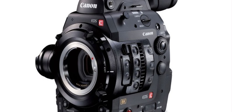 Canon nos da un vistazo a una nueva cámara EOS Cinema 8K que se encuentra en desarrollo