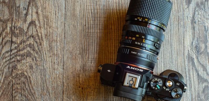 Las ventajas (e inconvenientes) de utilizar objetivos antiguos en las modernas cámaras digitales