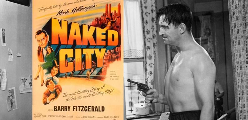 'La ciudad desnuda', la película de cine negro con la estética de Weegee