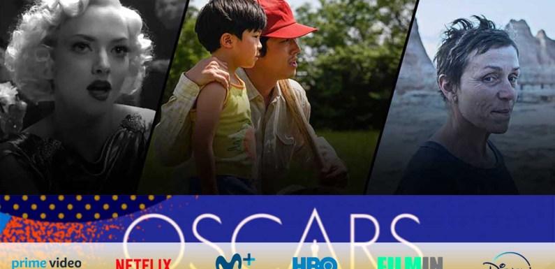 Dónde ver las películas nominadas a los Oscar 2021: Netflix, Amazon, Disney+ y en salas