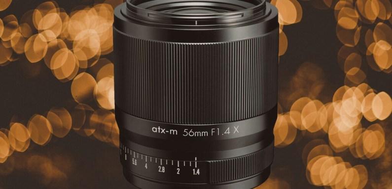 Tokina atx-m 56 mm F1.4 X: unteleobjetivo corto diseñado para vídeo en sistemas APS-C de Fujifilm