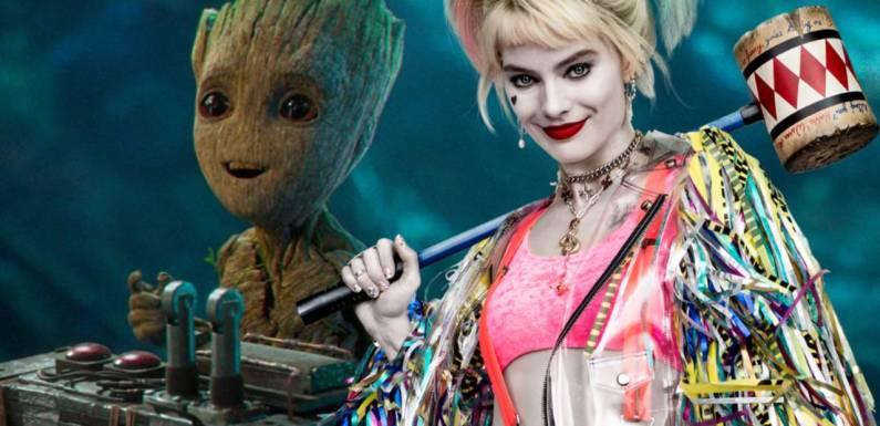 ¿Harley Quinn y Groot en una película? James Gunn ha planteado una idea sólida para un crossover DC/Marvel