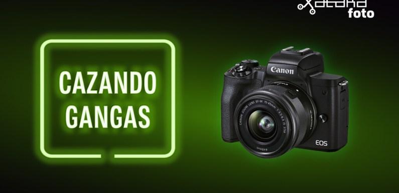 Canon EOS M50, Nikon Z5, Samsung Galaxy Z Fold 3 y más cámaras, móviles, ópticas y accesorios al mejor precio en el Cazando Gangas