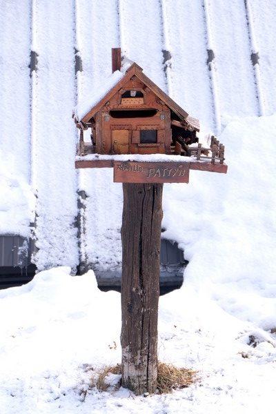 Beuil sous la neige