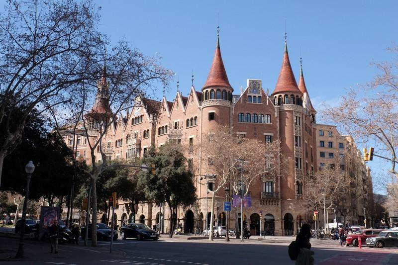 Casa de les Punxes à Barcelone