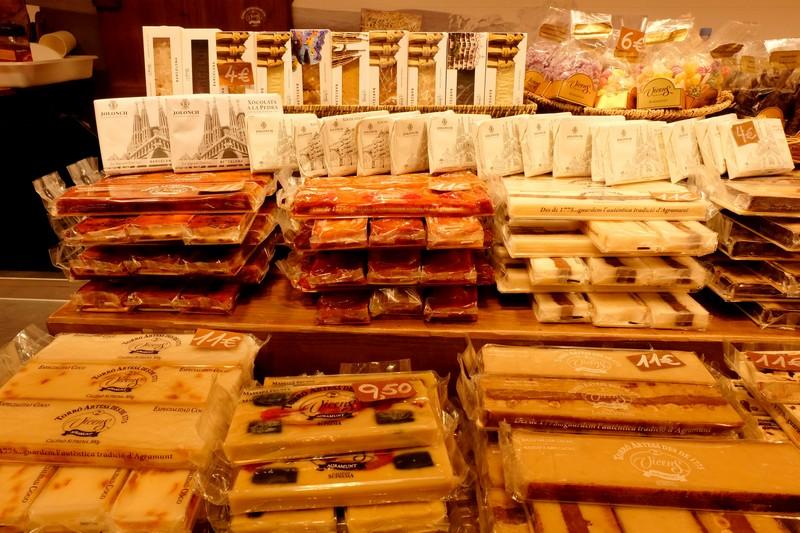 Des produits locaux sur le marché de Barcelone