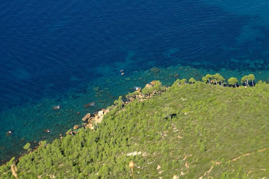 La côte à Cassis