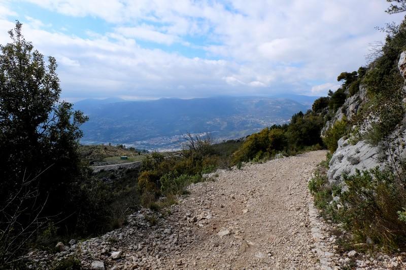 Descente du Mont Chauve