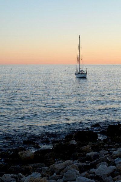 La Mer Méditerranéenne depuis Cassis